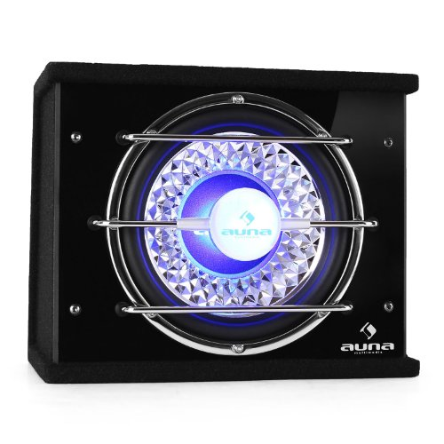 AUNA CB - Subwoofer per Auto, Sensibilità: 92 dB,...