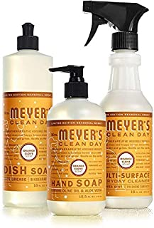 Mrs. Meyer's Kitchen Set Dish Soap, Hand Soap, Multi-Surface Cleaner, Orange Clove, 1 CT