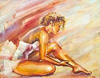 5D ダイアモンド絵画 アート キット 刺繍キット クロスステッチキット 裸の女の子 DIY 芸術品 壁アート 手芸 製作キット 壁の装飾 ホーム装飾 誕生日プレゼント