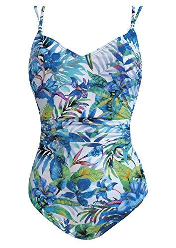 Sunflair Badeanzug Summer Breeze Cup F, Farbe Weiss, Größe 44