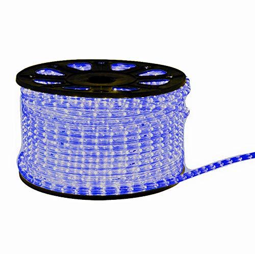 Preisvergleich Produktbild LED Lichterschlauch Lichtschlauch 20m blau 20 meter + Zuleitung