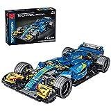 ZCXX Maqueta de coche de técnica deportiva, 1100 piezas, piezas de construcción para coche, compatible con Lego Technic
