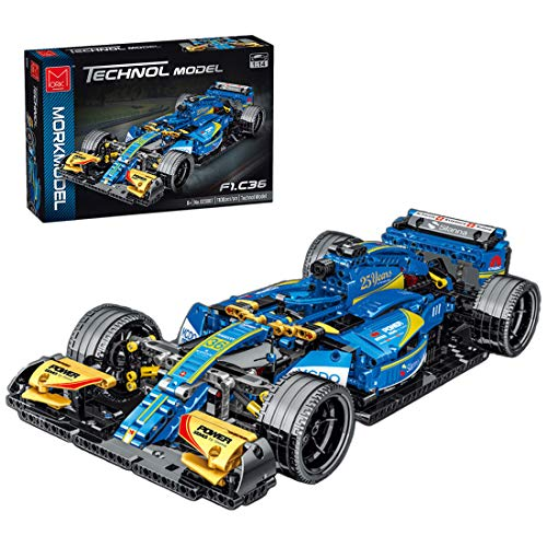 SESAY Coche de carreras para Ferrari FRR F1, 1100 piezas, 1:14, tecnología F1, compatible con la técnica Lego