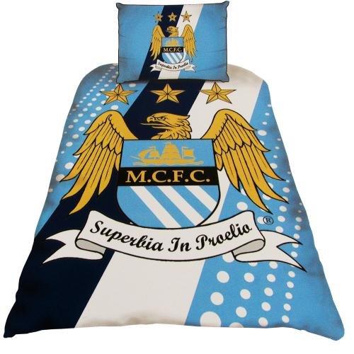Manchester City Crest Quilt Cover