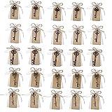 Awtlife, 50 Schlüssel-Flaschenöffner im Vintage-Stil mit Grußtasche für Hochzeitsgeschenke, 5 verschiedene Stile - 2