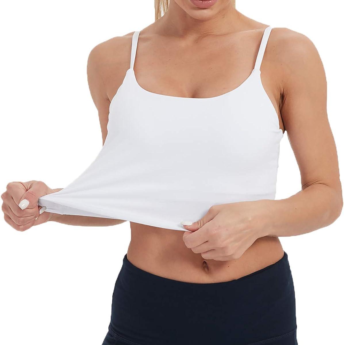 Tandisk Women Padded Sports Bra Fitness Workout Running Shirts Yoga Tank Top