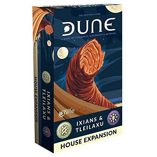Gale Force Nine DUNE2 - Dune: Ixians and Tleilaxu House [Expansion]