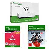 Microsoft Xbox One S 1TB - All Digital Edition [Konsole ohne optisches Laufwerk] + FIFA 20   Xbox One - Download Code + Gears 5