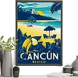 Hornbill In Cancun Mexiko Druck, Cancun Poster, Cancun