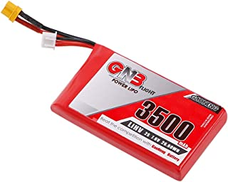 GAONENG 3500mAh 7.6V 2S LiPo LiHv Battery Pack with XT30 Plug for Frsky ACCST Taranis Q X7 Transmitter Remote Controller