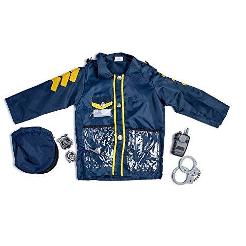 Dress Up America Jeu d'habillage de jeu de rôle de policier de petit garçon