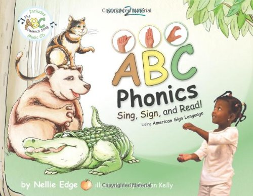 Sign2Me Early Learning, Phonics: Sing, Sign, and Read! Book with ASL Signs and Phonics Song Music CD