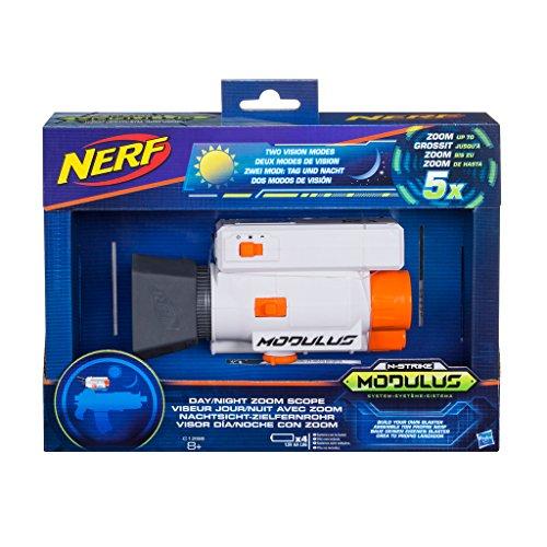 Hasbro Nerf C1296EU4 N-Strike Modulus Nachtsicht-Zielfernrohr, Spielzeugblaster-Zubehör