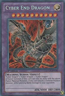 YU-GI-OH! - Cyber End Dragon (LCGX-EN182) - Legendary Collection 2 - 1st Edition - Secret Rare