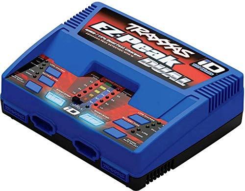 Cargador ez-peak dual más, 100w, nimh / lipo con la identificación - TRAXXAS - TRX2972G