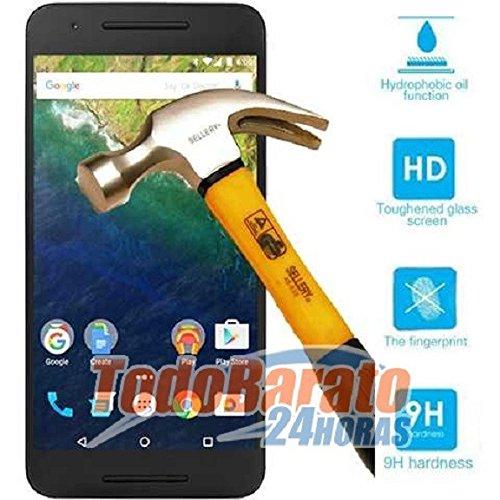 Protector de Cristal Templado Compatible con Huawei Nexus 6P