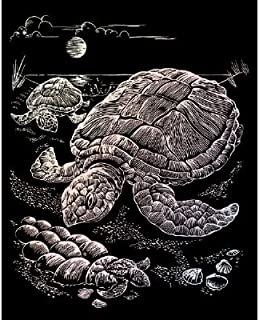Royal & Langnickel Engraving Art Set Holographic Foil Sea Turtle