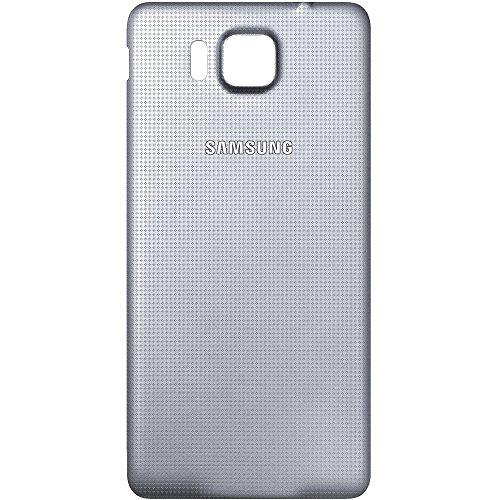 Original Akkufachdeckel Silver Samsung G850F Galaxy Alpha Original