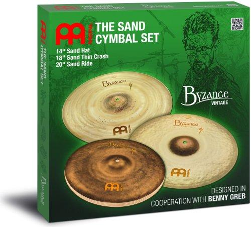 Meinl BV-141820SA Signature Models Benny Greb Byzance Vintage - Platillos Sand (14