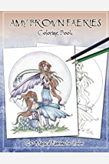 Amy Brown Faeries Coloring Book 3 Paperback