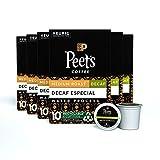 Peet's Coffee Decaf Especial, Medium Roast, 60 Count Single Serve K-Cup Decaffeinated Coffee Pods for Keurig Coffee Maker