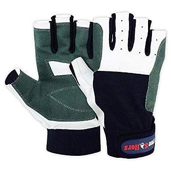 MRX Sailing Gloves Fishing Kayak Gloves for Men & Women Rowing Water Ski Canoe Paddle Gloves Sailing Gear Women Paddling Gloves | Sailing Gloves for Men & Women | Short Finger Sailing Kayaking Gloves