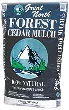 AMERISCAPE 55553 Cedar Mulch, 2 Cubic Feet, Natural