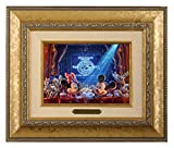 Thomas Kinkade Studios Disney 90 Years of Mickey Brushwork (Gold Frame)
