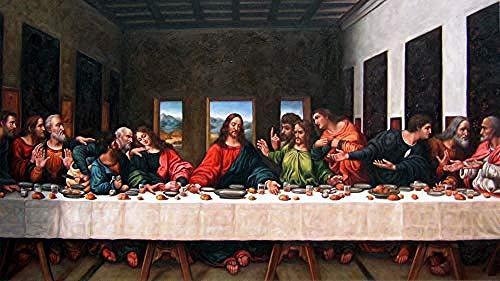Rompecabezas para adultos Rompecabezas de madera de 1000 piezas Da Vinci S Última cena para adolescentes y adultos Muy buen juego educativo 500P