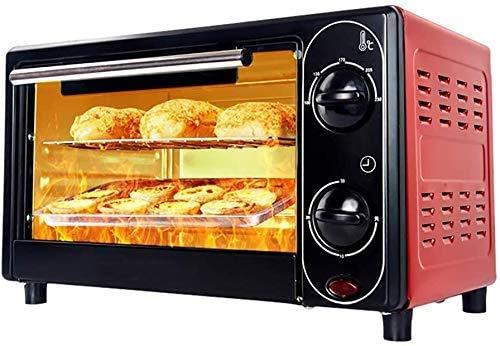 Mini Electric oven voor het bakken, kleine elektrische oven en grill, mini-oven met kookplaat Cookers, 12L huishoudelijke elektrische oven, 30 minuten Timing, Gratis Temperature Control.