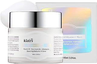 Klairs Freshly Juiced Vitamin E Mask, Moisturizer, Brightening Effect With Viatmin C, Niacinamide, Adenosine, 90ml