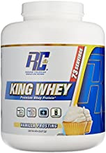 Ronnie Coleman Signature Series King Whey, Leading Whey Protein With Added Whey Isolate, Vanilla Frosting, 5 Pound