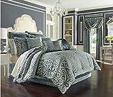 J. Queen New York 'Sicily' Comforter Set in Teal, Queen