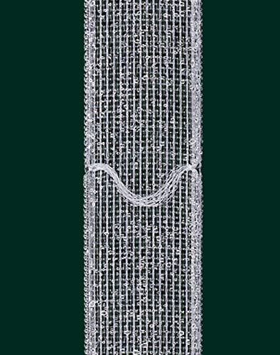 Ruther & Einenkel - Cinta para cortinas (17 mm de ancho, 7,5 cm de grosor, 10 m de longitud), transparente