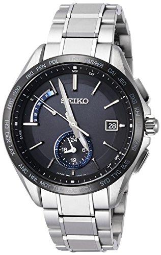 [セイコーウォッチ] 腕時計 ブライツ デュアルタイム表示 SAGA235 シルバー