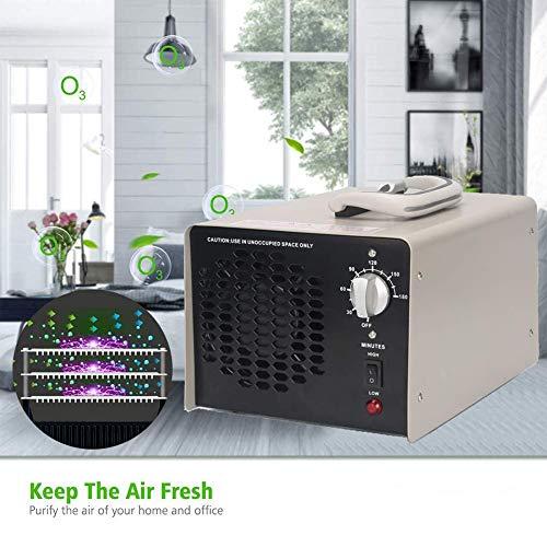 D&F Generatore Commerciale Industriale dell'ozono, Multifunzionale del purificatore d'Aria 30000mg/h ionizzatori d'Aria Domestici per Casa, Ufficio, Fumo, Auto e Animali Domestici