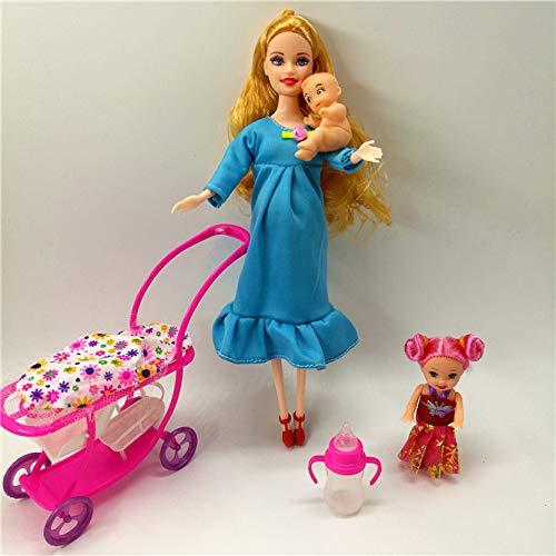 XKMY Barbie Doll House Muebles Niños Juegos de Casa de Juego para...