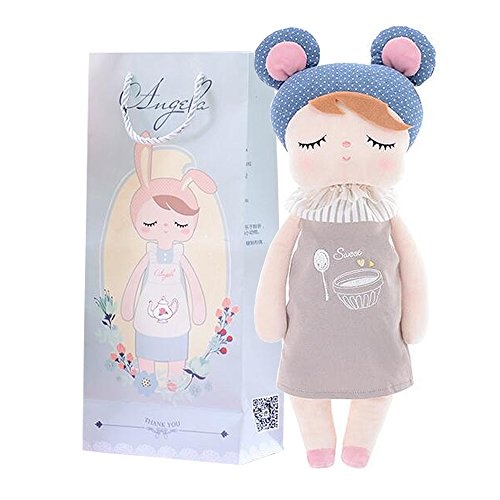 Me Too 12 Pudding Style Angela Stuffed Bunny Baby Plush Rabbit Doll Gifts for Girls