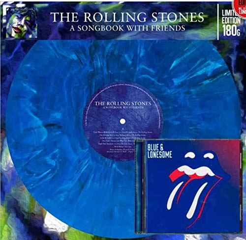 Album Art for A Songbook With Friends + Blue & Lonesome Cd [VINYL] by The Rolling Stones