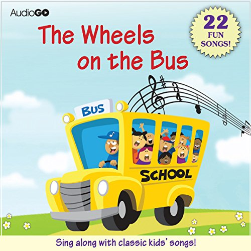 The Wheels on the Bus and Other Children's Songs audiobook cover art