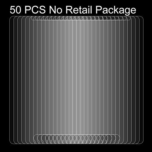 Zhangsihong gehärteter Glasfilm 50 STÜCKE for Wiko U Feel Fab 0.26mm 9H Oberflächenhärte Explosionsgeschützt Nicht Vollbild-Hartglas-Displayfilm, kein Kleinpaket Displayschutz