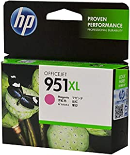 Hp 951xl High Yield Ink Cartridge, Magenta [cn047ae]