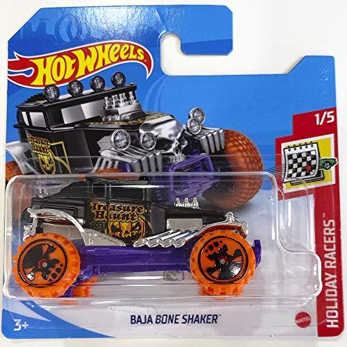 Hot Wheels Baja Bone Shaker Treasure Hunt Holiday Racers 1/5 2020 (28/250) Short Card
