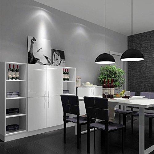 WTD - Papel pintado para pared, autoadhesivo, diseño de habitación, color gris