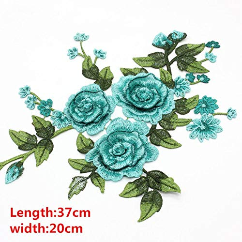 2 stks mooie daisy geborduurde kant hals diy kraag trim kleding naaien applique borduurwerk rand voor naaibenodigdheden craft, gg-2, china