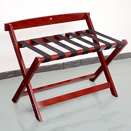 Amazing Deal CHAOYANG Hotel luggage rack Solid wood luggage rack, hotel bedroom Foldable Luggage R...