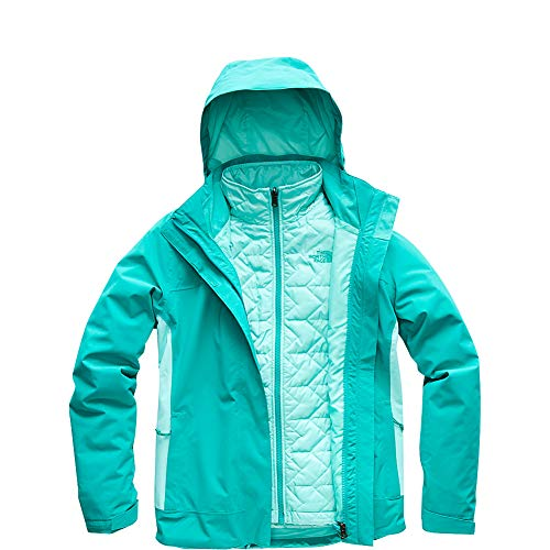 The North Face Women's Carto Triclimate Jacket - Kokomo Green & Mint Blue - S