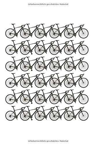 Fahrräder: 6X9 Zoll Notizbuch – Kariert – Din A5 Heft Für Fahrradfahrer Mit 120 Seiten| Tagebuch Planer | Notiz Buch Geschenk Journal Notebook Logbuch