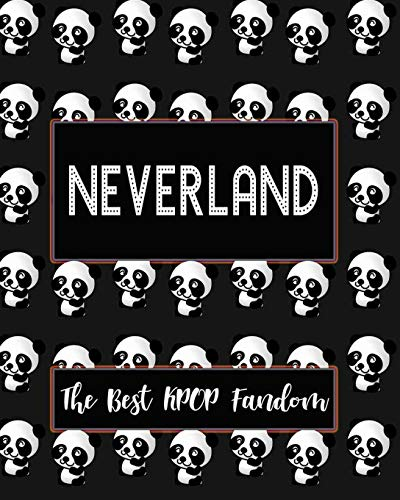 NEVERLAND The Best KPOP Fandom: Best KPOP Gift Fans Cute Panda Monthly Planner 8