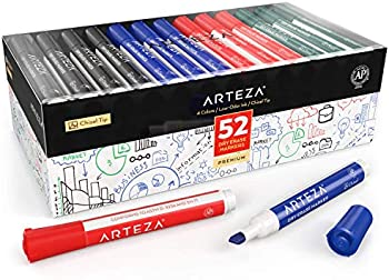 Set of 52 Arteza Dry Erase Markers
